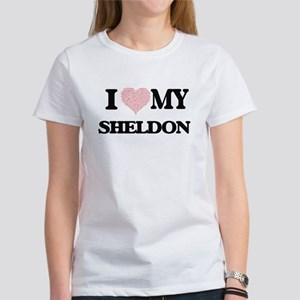 I Love my Sheldon (Heart Made from Love my T-Shirt