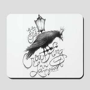 Crow King Mousepad