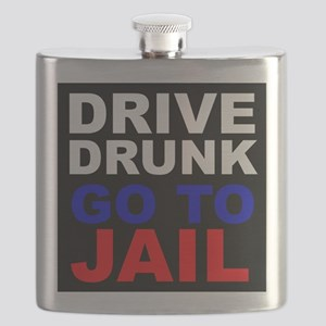 Drive Drunk Go To Jail Flask