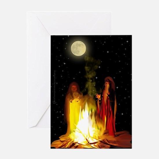 Bonfire Samhain Invitation Card