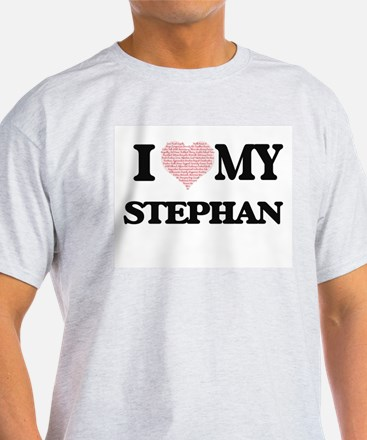 I Love my Stephan (Heart Made from Love my T-Shirt