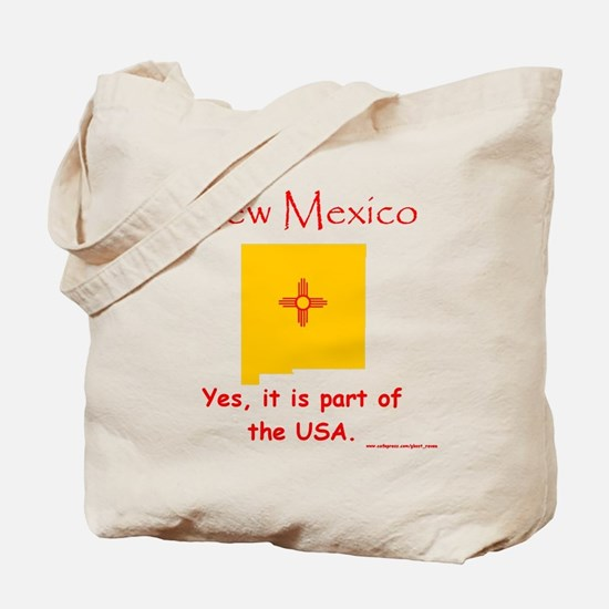 NM, USA Tote Bag