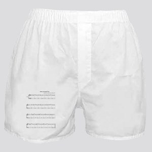 Arms Around Boxer Shorts