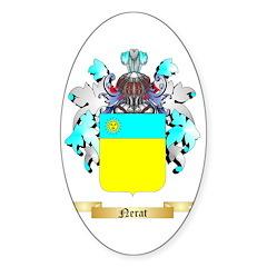 Nerat Sticker (Oval)