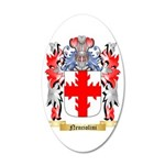 Nenciolini 35x21 Oval Wall Decal