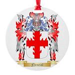 Nenciol Round Ornament