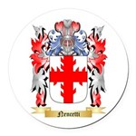 Nencetti Round Car Magnet