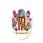 Nelson Oval Car Magnet