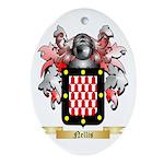 Nellis Oval Ornament