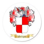 Nelligan Round Car Magnet