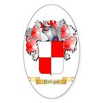 Nelligan Sticker (Oval 10 pk)