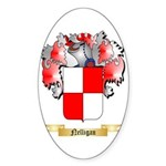Nelligan Sticker (Oval 50 pk)