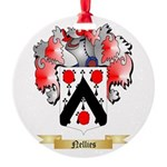 Nellies Round Ornament