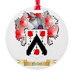 Nellen Round Ornament