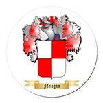 Neligan Round Car Magnet