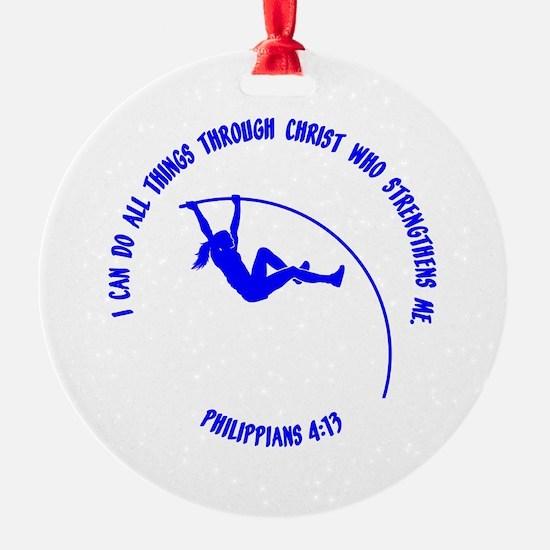 POLE VAULT Ornament