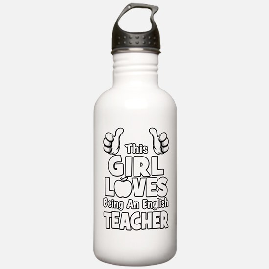 Cool English classroom Water Bottle