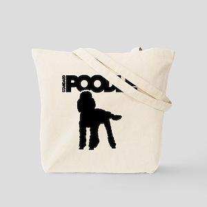POODLE (both sides) Tote Bag