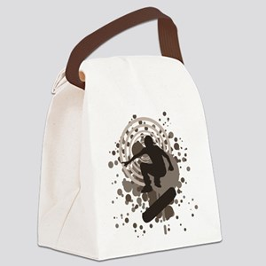 skateboard graphic Canvas Lunch Bag