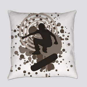 skateboard graphic Everyday Pillow
