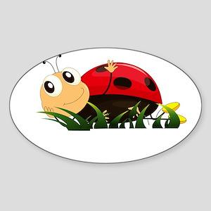 Cute Cartoon Ladybird Sticker