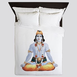Krishna Lotus Muscle Queen Duvet