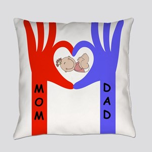 Baby love hands Everyday Pillow