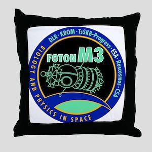 Foton M3 Throw Pillow