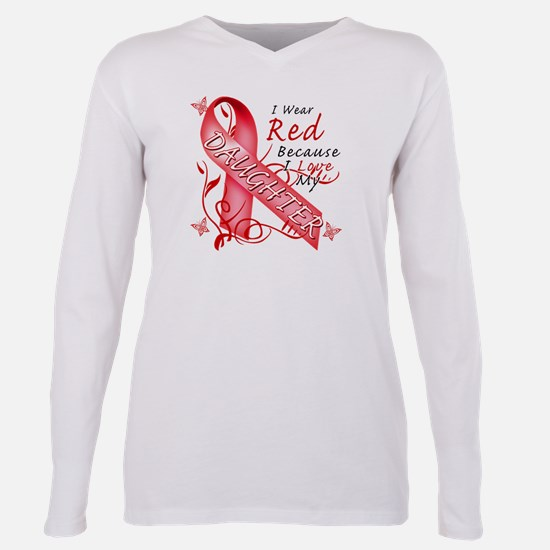 I Wear Red Because I Love My Daughter T-Shirt