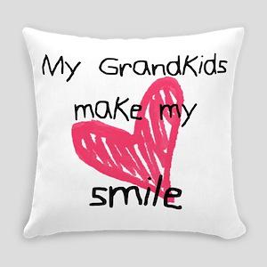 Grandkids make my heart smile Everyday Pillow