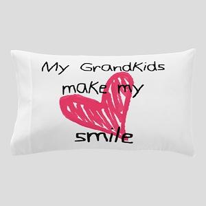 Grandkids make my heart smile Pillow Case