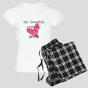 Grandkids make my heart smile Pajamas
