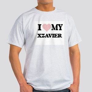 I Love my Xzavier (Heart Made from Love my T-Shirt