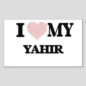 I Love my Yahir (Heart Made from Love my w Sticker