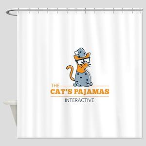 PJ logo Shower Curtain