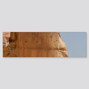 Ancient Travel Egyptian Sphinx Bumper Sticker