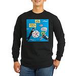 SCUBA Confusion Long Sleeve Dark T-Shirt