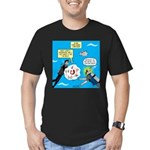 SCUBA Confusion Men's Fitted T-Shirt (dark)
