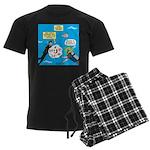 SCUBA Confusion Men's Dark Pajamas
