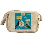 SCUBA Confusion Messenger Bag