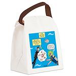 SCUBA Confusion Canvas Lunch Bag