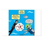 SCUBA Confusion Postcards (Package of 8)