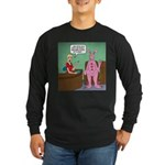 Pajama Expert Long Sleeve Dark T-Shirt