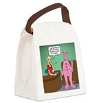 Pajama Expert Canvas Lunch Bag