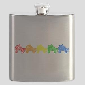 rainbow skates Flask