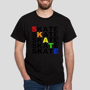 rainbow skate stacks T-Shirt
