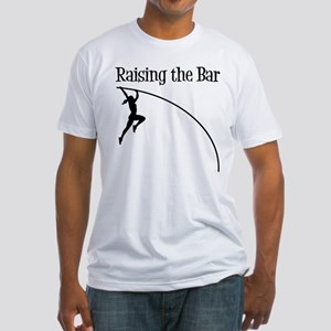 POLE VAULT Fitted T-Shirt