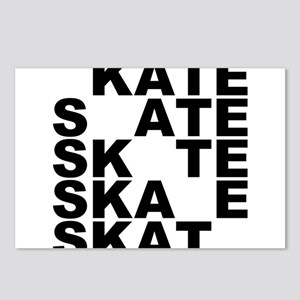 skate stack Postcards (Package of 8)