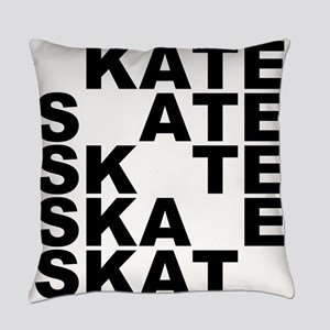skate stack Everyday Pillow