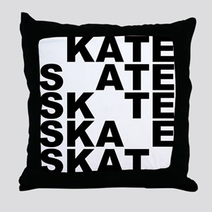 skate stack Throw Pillow